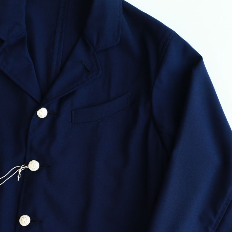 WORKERS ワーカーズ Lt Creole Jacket, Wool Tropical ライトクレオールジャケット ウールトロピカル