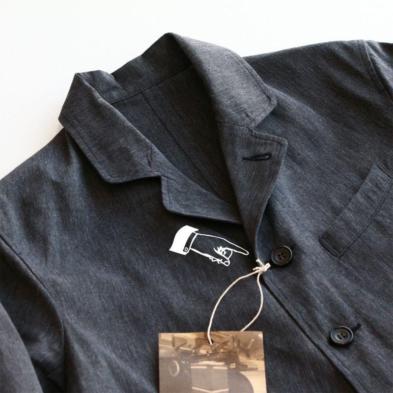 WORKERS ワーカーズ Lt Creole Jacket, Black Chambray ライトクレオールジャケット ブラックシャンブレー