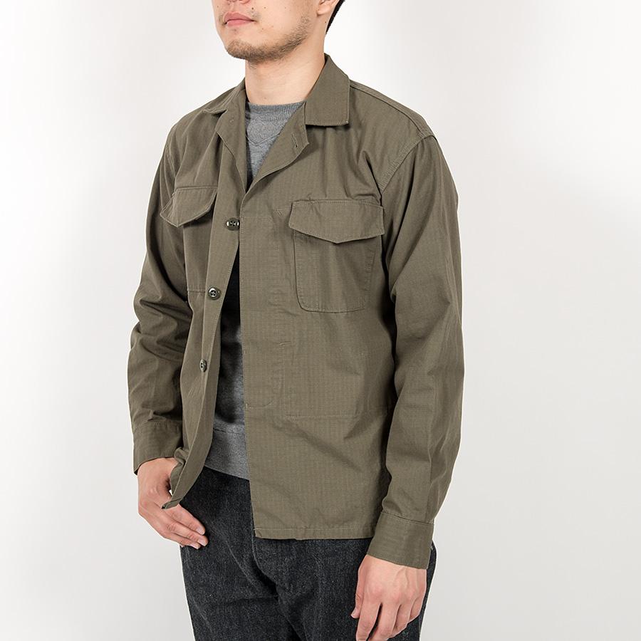 WORKERS ワーカーズ Fatigue Shirt, Cotton Cordura Nylon Ripstop ファティーグシャツ コットンコーデュラナイロンリップストップ
