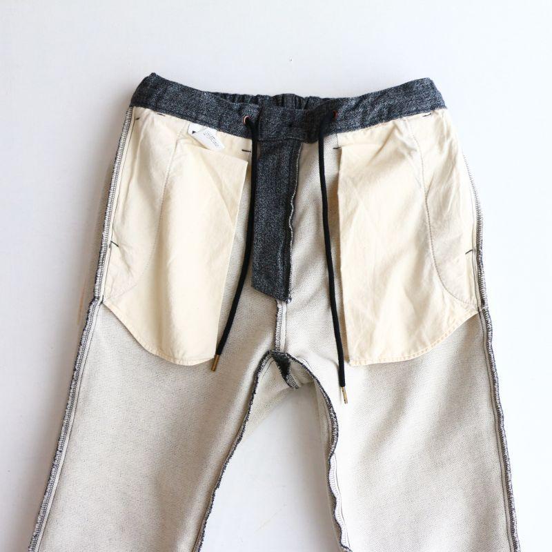 エフオービーファクトリー【FOB FACTORY】 RELAX NARROW EASY PANTS リラックスナローイージーパンツ チャコール F0438