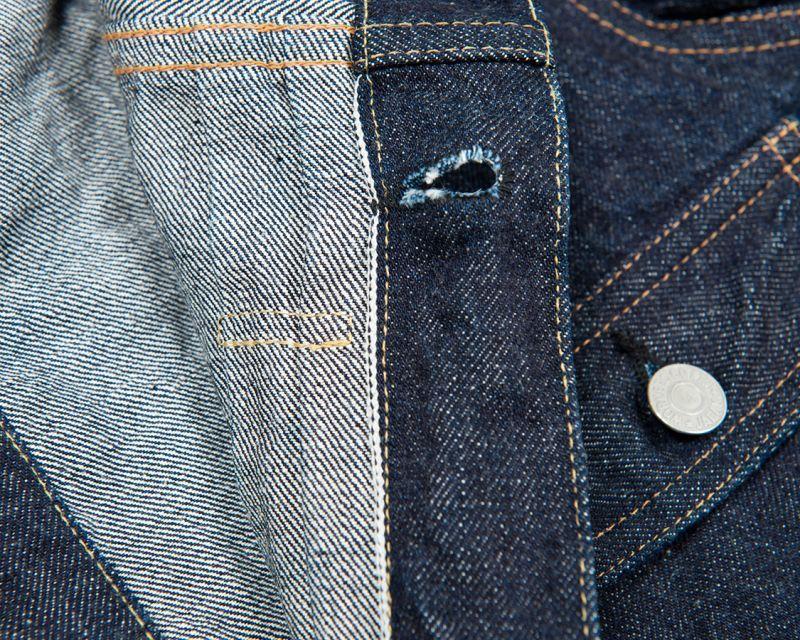 WORKERS ワーカーズ 1st Type Jacket, 13.75 Oz Raw Denim デニムジャケット