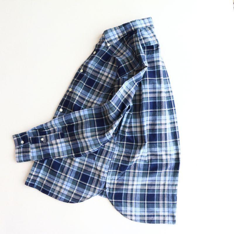 SONTAKU ソンタク Madras Check BD Shirt 洗いざらしマドラスチェックボタンダウンシャツ