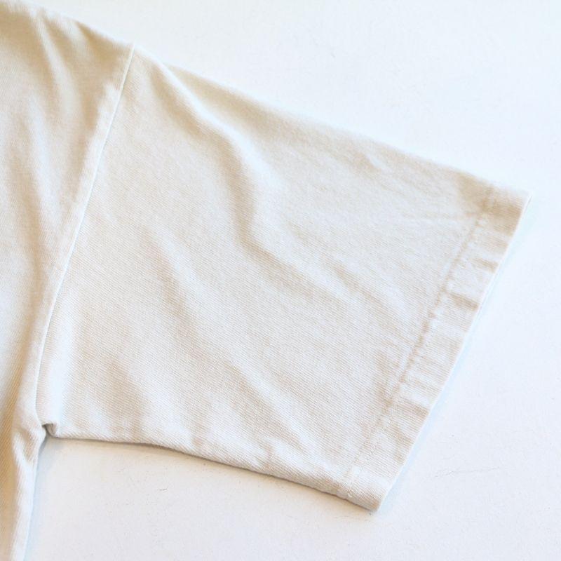 BARNS OUTFITTERS バーンズアウトフィッターズ Cotton Rayon Crew Print Tee コットンレーヨンクループリントTee