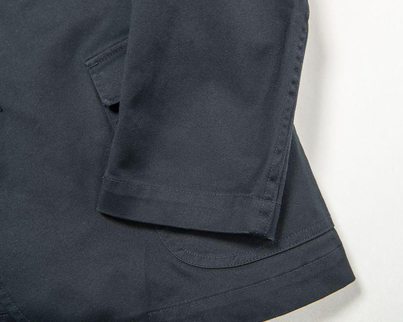 【7月入荷予定】 WORKERS ワーカーズ Lounge Jacket Navy Chino ラウンジジャケット ネイビーチノ