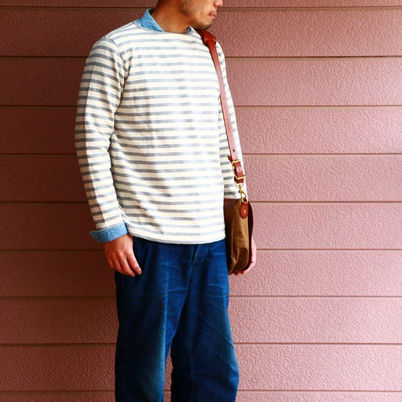 Tieasy Authentic Classic ティージー オーセンティック クラシック HDCS BOATNECK BORDER BASQUE SHIRT ボートネックボーダーバスクシャツ