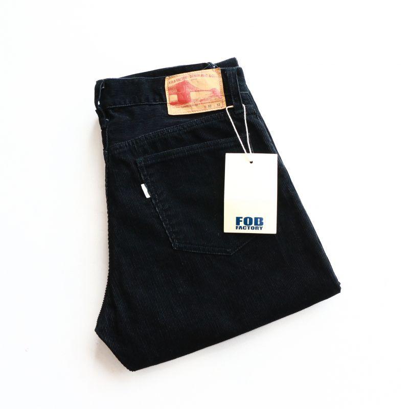 FOB FACTORY エフオービーファクトリー CORDUROY 5P PANTS コーデュロイパンツ F1151