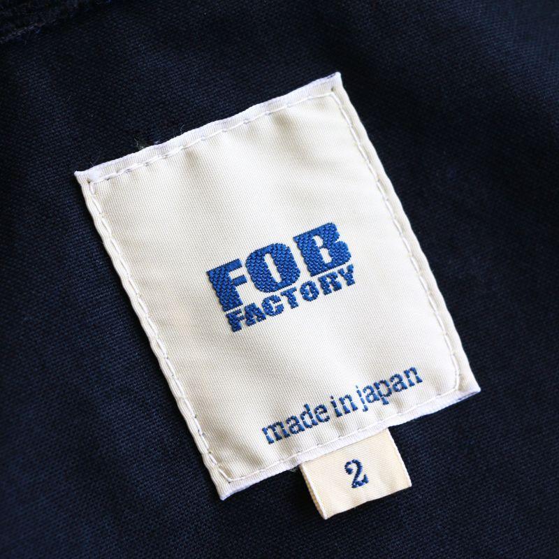 FOB FACTORY エフオービーファクトリー RIDING JACKET ライディングジャケット ネイビー F2361