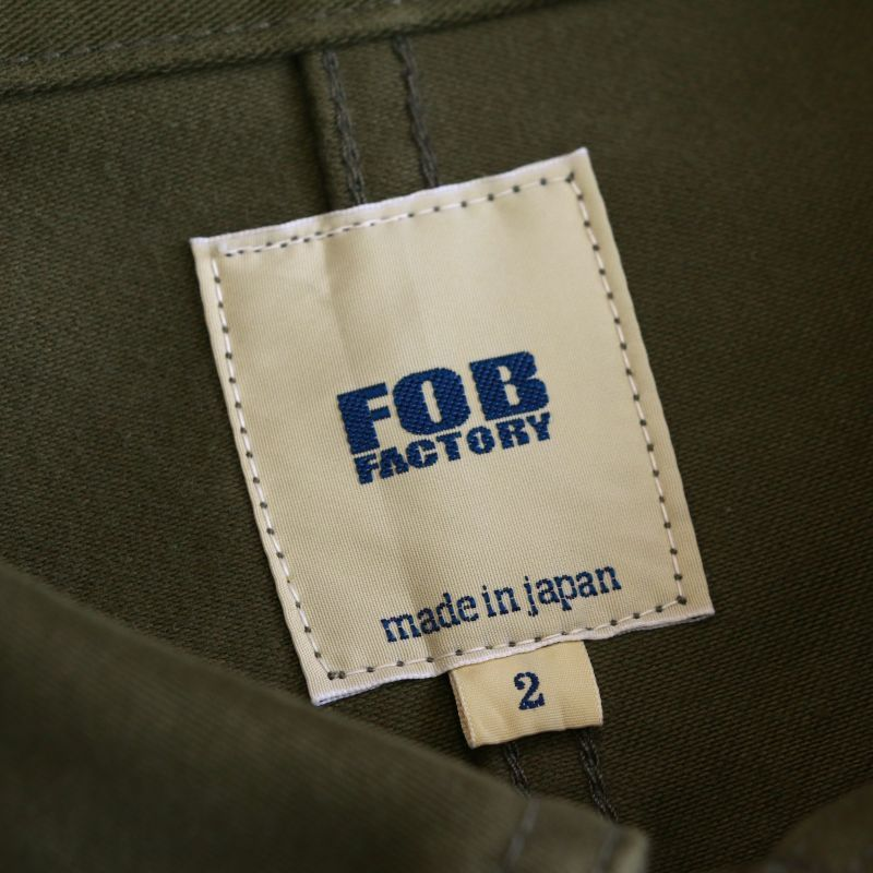 FOB FACTORY エフオービーファクトリー FRENCH MOLESKIN JACKET フレンチモールスキンジャケット F2373