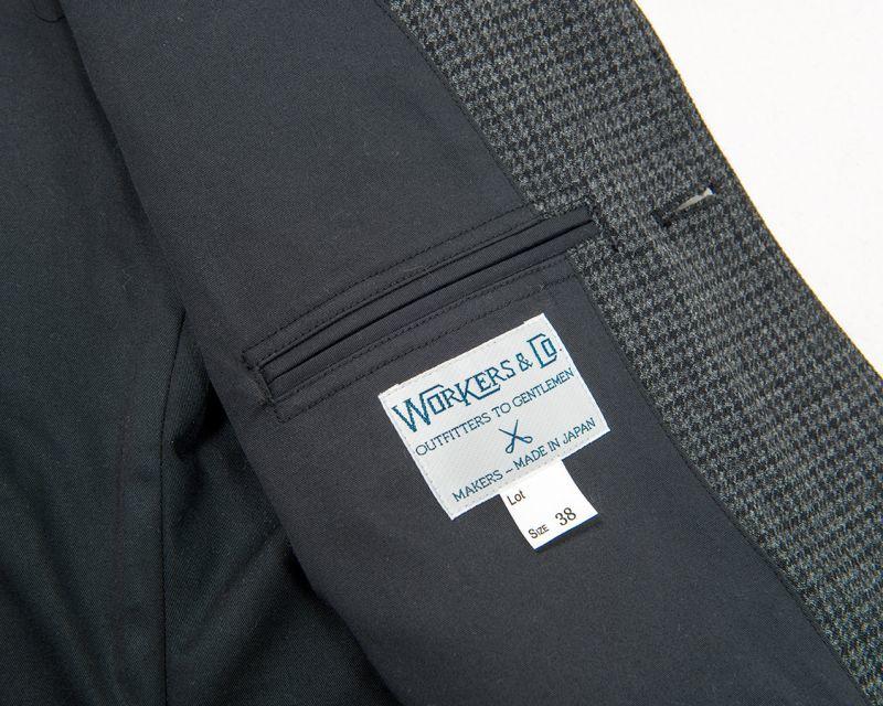 WORKERS ワーカーズ Maple Leaf Jacket Gunclub Check メープルリーフジャケット ガンクラブチェック