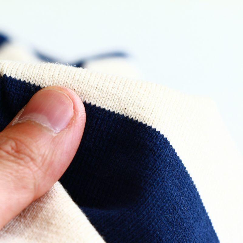Tieasy Authentic Classic ティージー オーセンティック クラシック HDCS BOATNECK WIDE BORDER S/S BASQUE SHIRT ワイドボーダーS/Sボートネックバスクシャツ