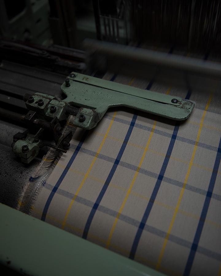 WORKERS ワーカーズ Bal Collar Coat Gabardine, Khaki バルカラーコート ギャバジン カーキ