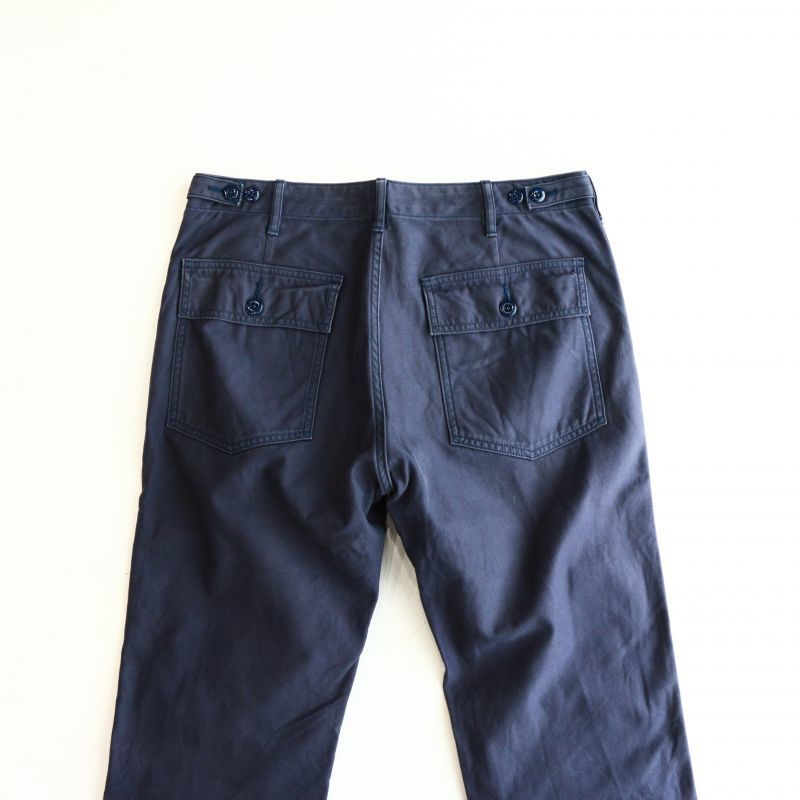 Aging sample FOB factory BAKER PANTS NAVY