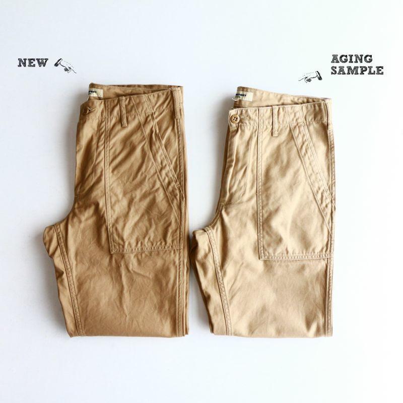 Aging sample FOB factory BAKER PANTS BEIGE