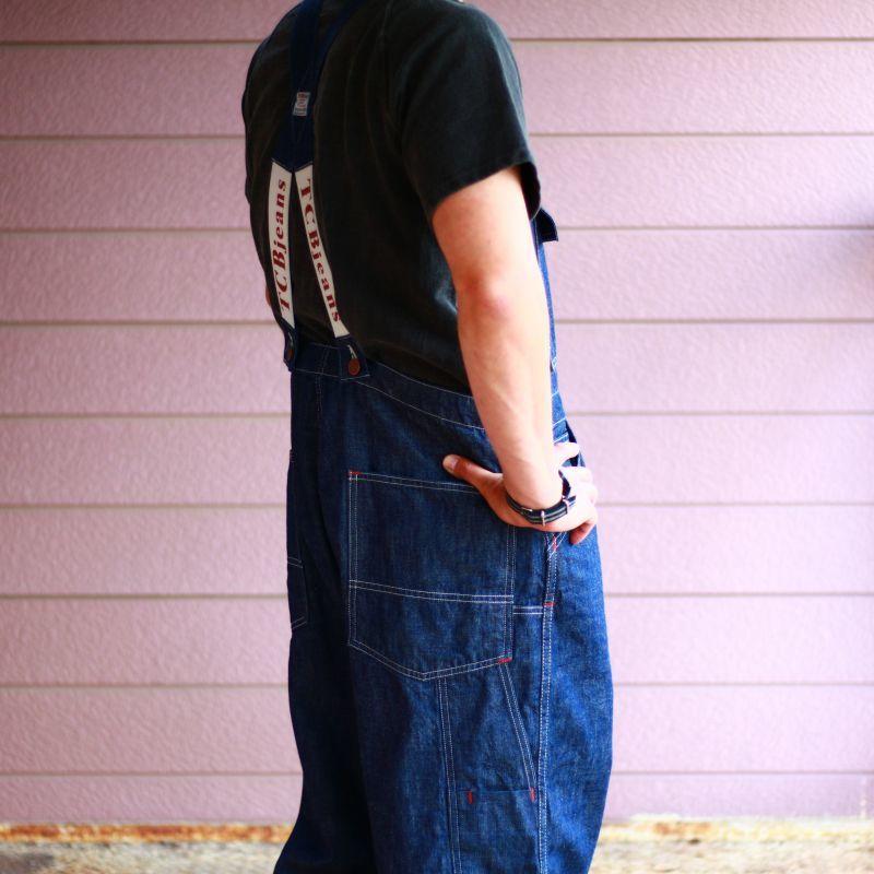 TCB jeans TCBジーンズ Tabby's Overall タビーズオーバーオール