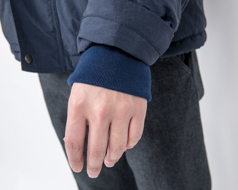 WORKERS ワーカーズ N-1, Puff Jacket, Nylon, Water-repellent Ripstop, Navy N-1パフジャケット ネイビー