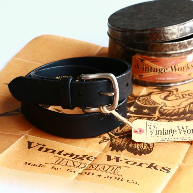 Vintage Works ヴィンテージワークス レザーベルト DH5702