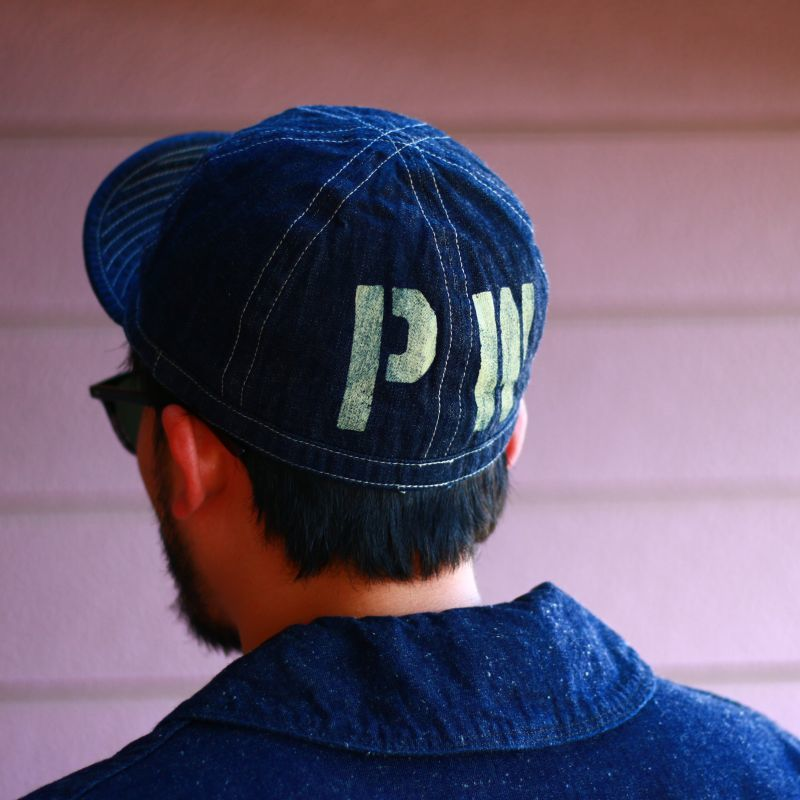"Buzz Rickson's バズリクソンズ DENIM ARMY CAP ""PW"" デニムアーミーキャップ ""PW"""