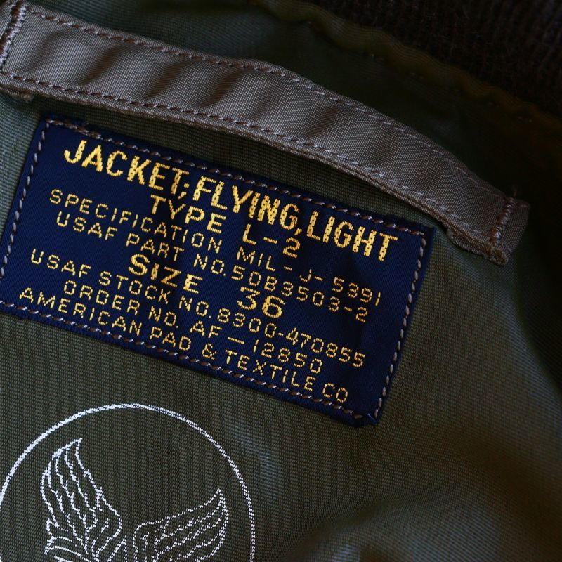 Buzz Rickson's バズリクソンズ L-2 FLIGHT JACKET L-2 フライトジャケット Qurious キュリアス 新潟 通販