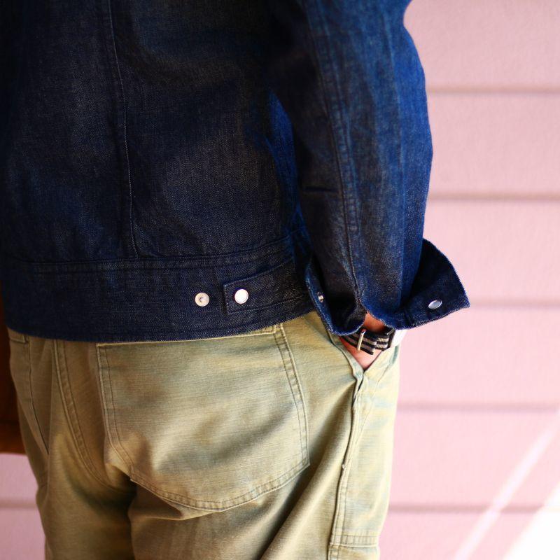 TCB jeans TCBジーンズ Buckaroo Jacket Indigo バッカルージャケット インディゴ