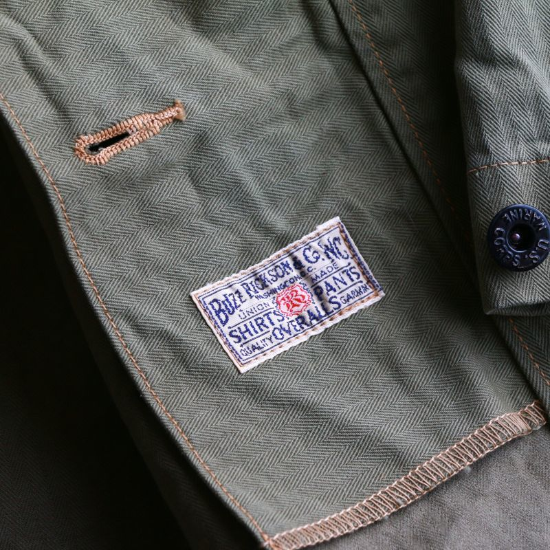 Buzz Rickson's バズリクソンズ HERRINGBONE U.S. MARINE COOP JACKET ヘリンボーンツイル USMC ジャケット