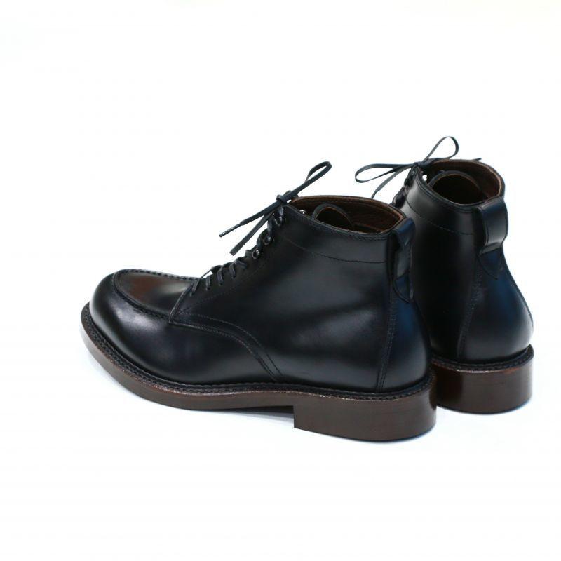 THE RUTT SHOES & CO. ラッドシューズ SPLIT V-TIP BOOTS Last #168 スプリットVチップ ブーツ Black