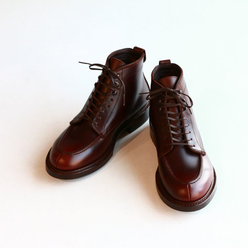 THE RUTT SHOES & CO. ラッドシューズ SPLIT V-TIP BOOTS Last #168 スプリットVチップ ブーツ DK Brown