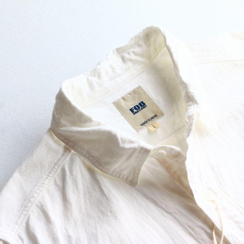 FOB FACTORY エフオービーファクトリー OX WORK SHIRTS オックスワークシャツ F3379