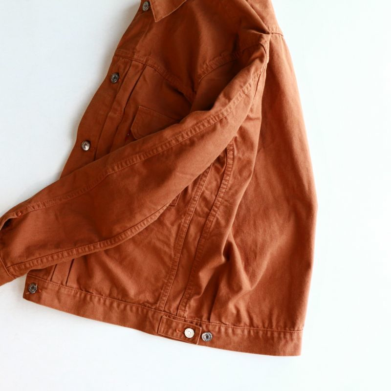 TCB jeans TCBジーンズ 50`s zimbabwe brown duck Jacket ブラウンダックジャケット 2nd