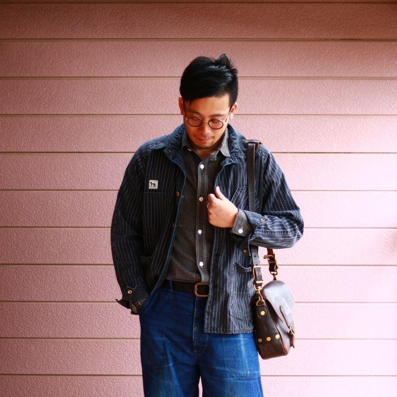TCB jeans TCBジーンズ Catlight Shirts Covert Black Chambray 5.2oz キャットライトシャツ ブラックシャンブレー