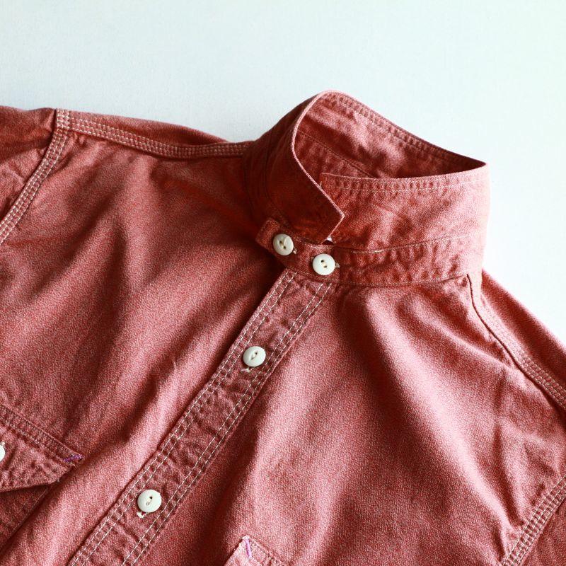 TCB jeans TCBジーンズ Catlight Shirts Covert Red Chambray 5.2oz キャットライトシャツ レッドシャンブレー