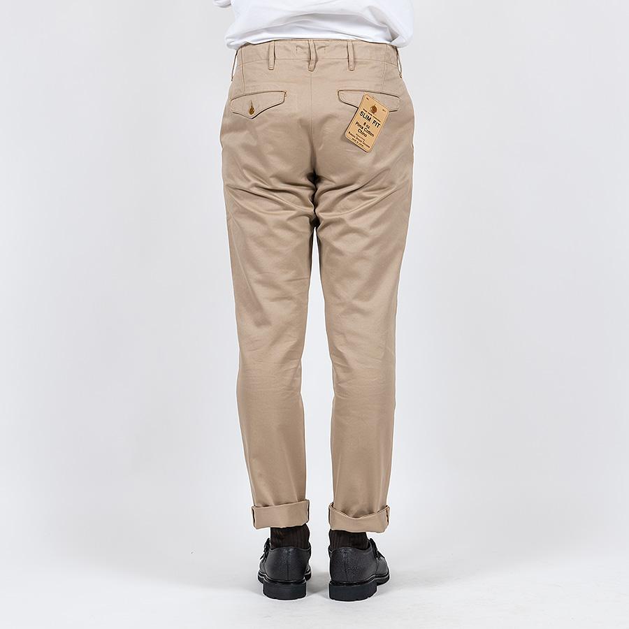 WORKERS ワーカーズ Officer Trousers, Slim Type1, オフィサートラウザー スリム Type1