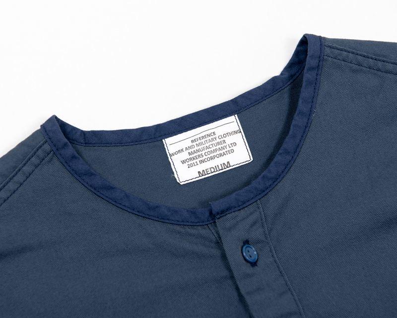 WORKERS ワーカーズ Sleeping Shirt, スリーピングシャツ