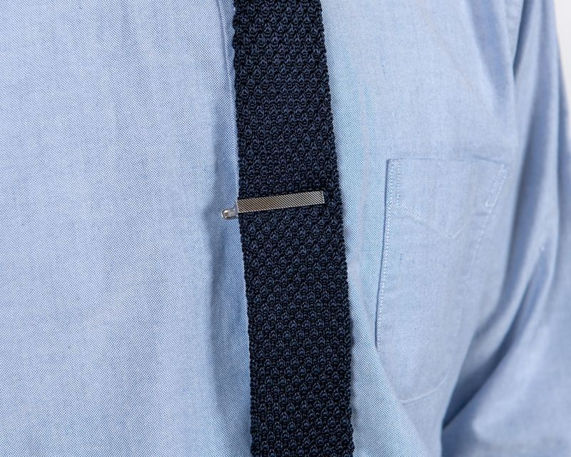 WORKERS ワーカーズ Tie Clip, Regimental タイクリップ レジメンタル