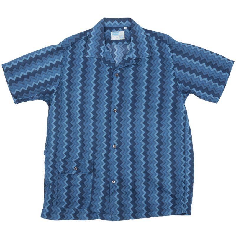 WORKERS ワーカーズ Open Collar Shirt, オープンカラーシャツ