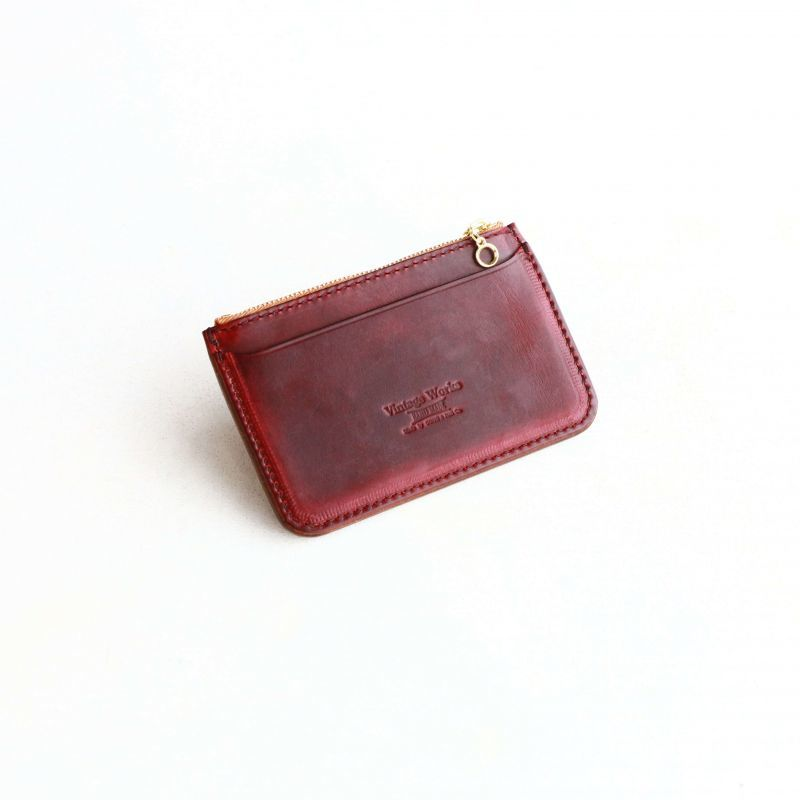Vintage Works ヴィンテージワークス Leather Wallet クロムエクセルミニウォレット BURGUNDY