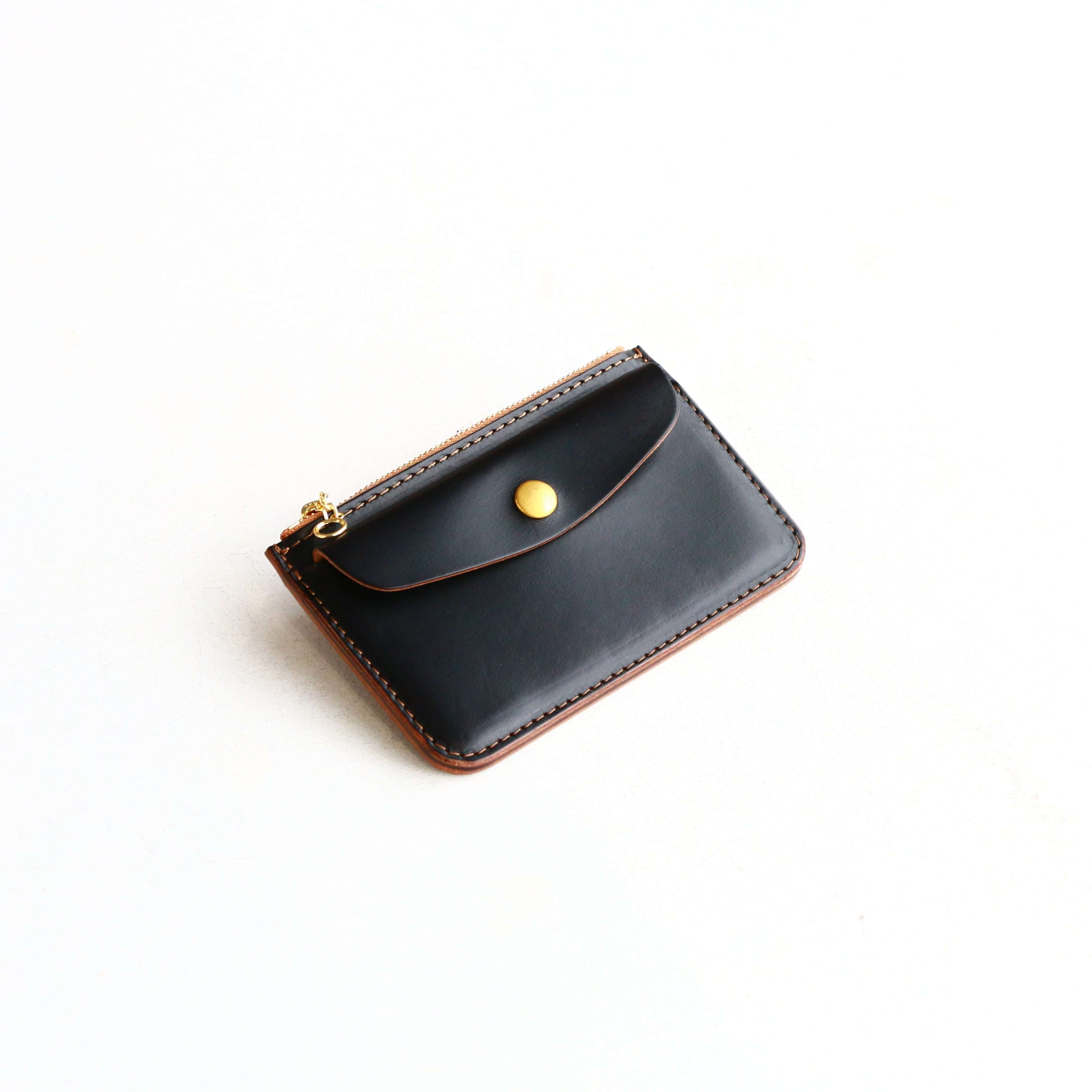Vintage Works ヴィンテージワークス Leather Wallet クロムエクセルウォレット ブラック