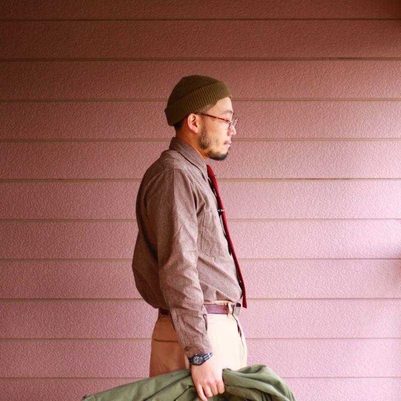 Buzz Rickson's バズリクソンズ COTTON COVERT WORK SHIRT コットンカバート ワークシャツ