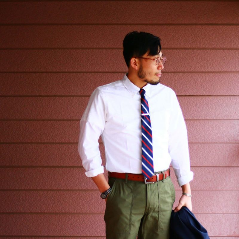 SONTAKU ソンタク Broad cloth BD Shirts ブロードクロスボタンダウンシャツ ホワイト