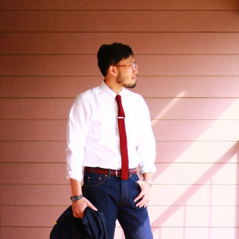 SONTAKU ソンタク Oxford b.d shirt オックスフォードボタンダウンシャツ ホワイト