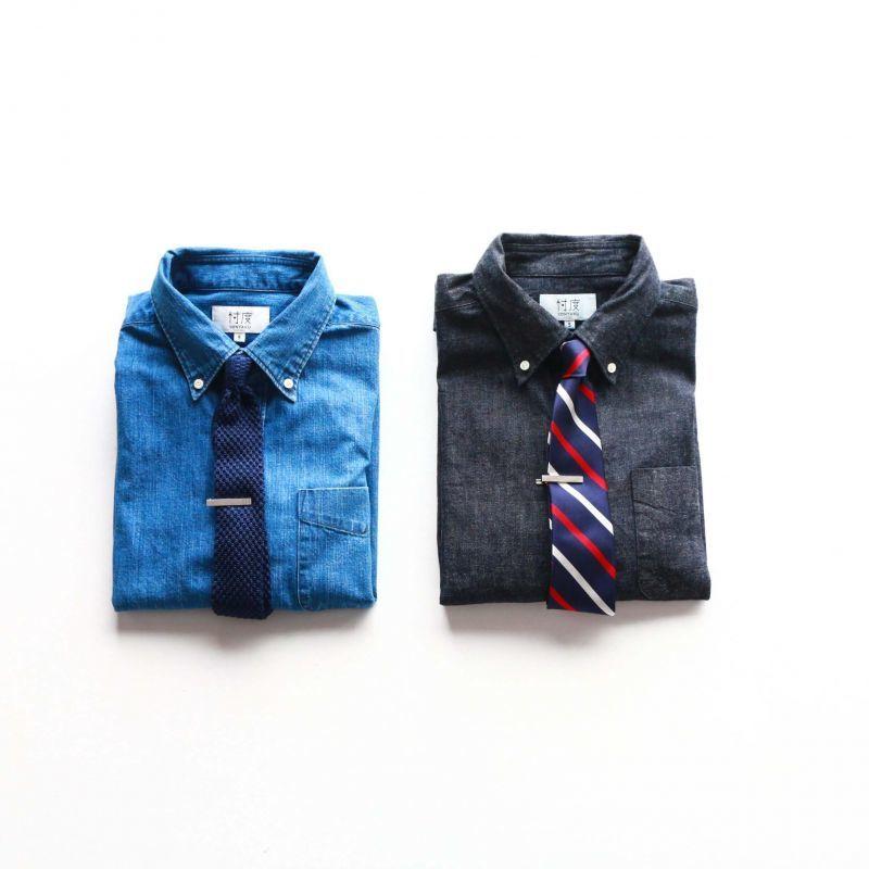 SONTAKU ソンタク DENIM B.D SHIRT デニムボタンダウンシャツ インディゴ