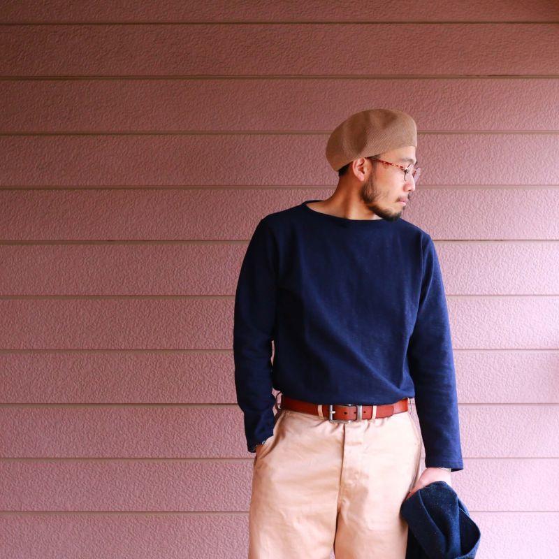 Tieasy Authentic Classic ティージー オーセンティック クラシック HDCS BOATNECK BASQUE SHIRT ボートネックシャツ