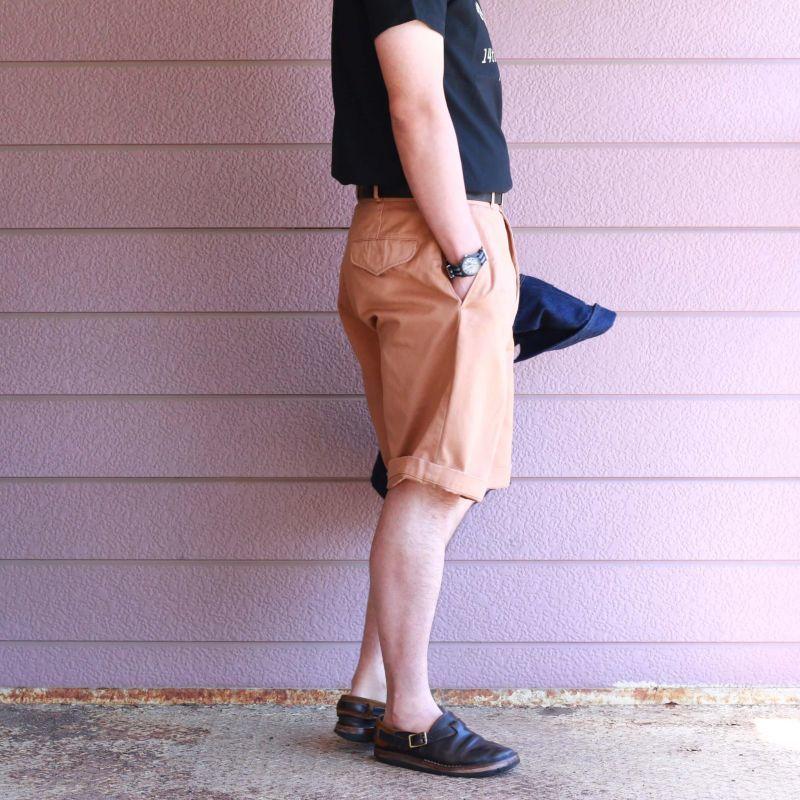 Buzz Rickson's バズリクソンズ SHORTS MEN'S COTTON  UNIFORM TWILL 8.2oz グルカショーツ