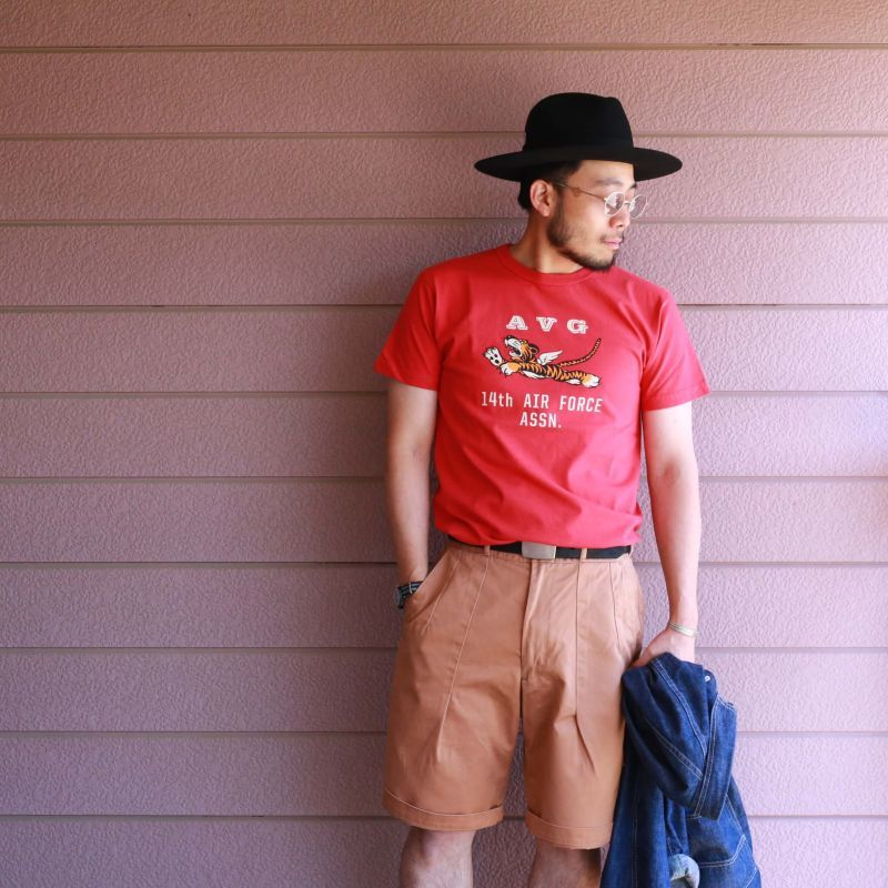 Buzz Rickson's バズリクソンズ PRINT S/S TEE 14th AIR FORCE ASSN プリントTEE