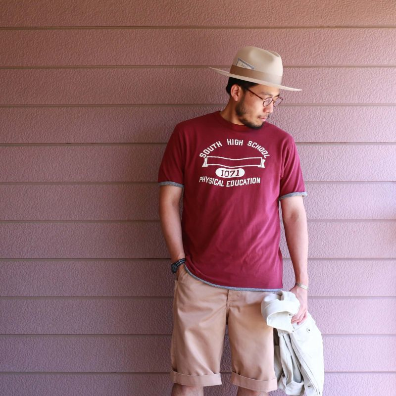 BARNS OUTFITTERS バーンズアウトフィッターズ REPRODUCT REVERSIBLE TEE リプロダクトリバーシブルTee