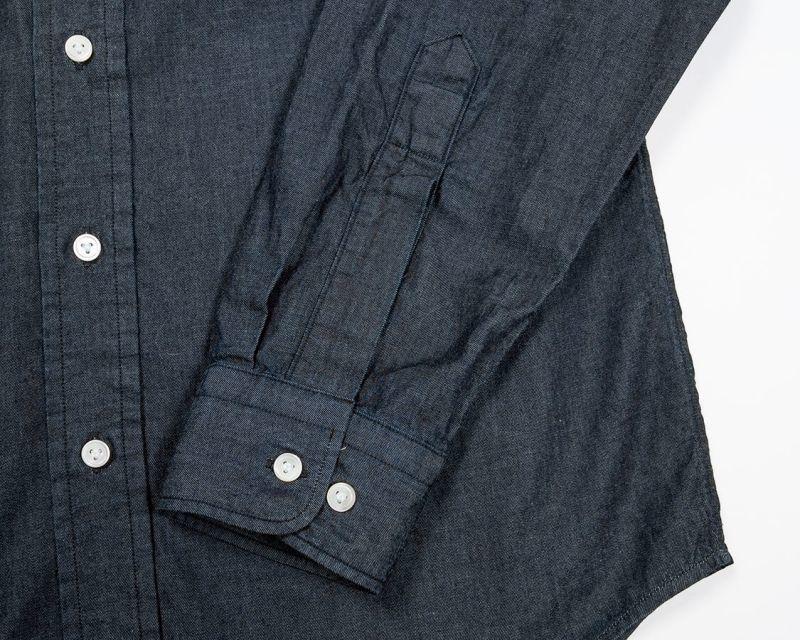 WORKERS ワーカーズ Round Cutaway Shirt ラウンドカッタウェイシャツ 4 oz Indigo Denim OW