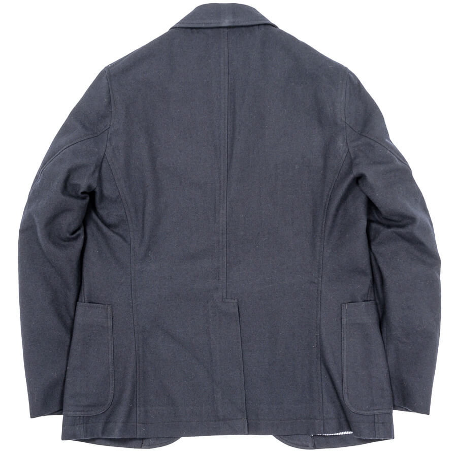 WORKERS ワーカーズ Maple Leaf Jacket メープルリーフジャケット Wool Cotton Serge, Navy