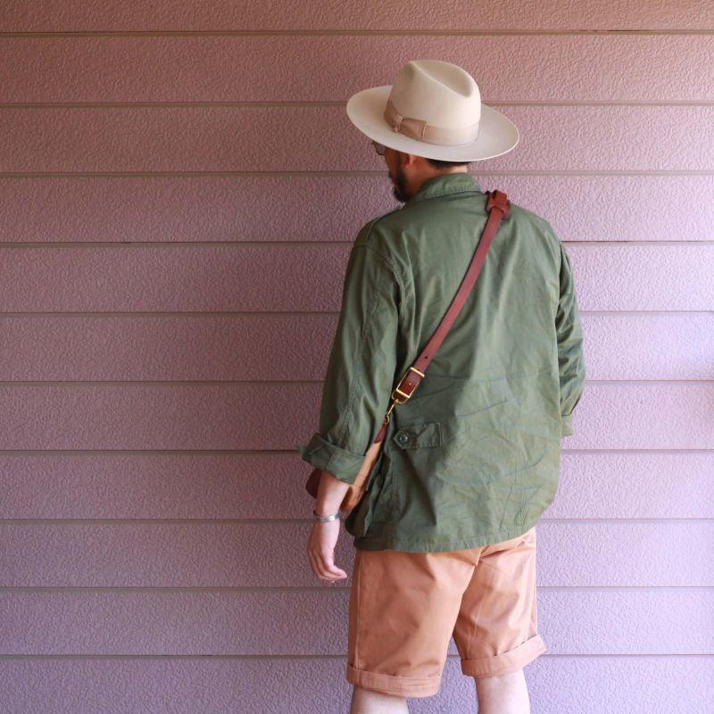 vasco ヴァスコ CANVAS×LEATHER MAIL BAG -SMALL キャンバス×レザー メールバッグ スモール 刻印ナシ