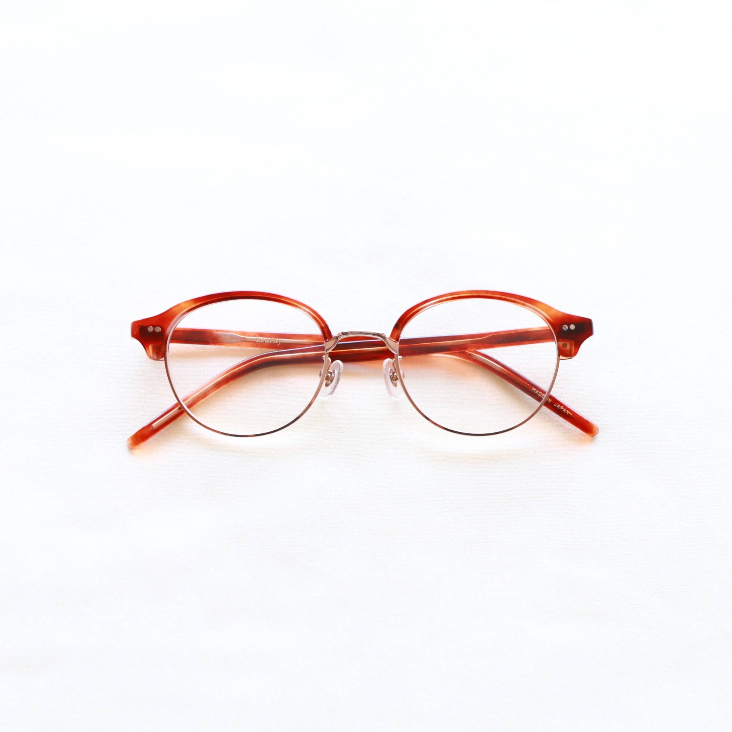 kearny カーニー sirmont brow サーモントブロー セルロイド眼鏡