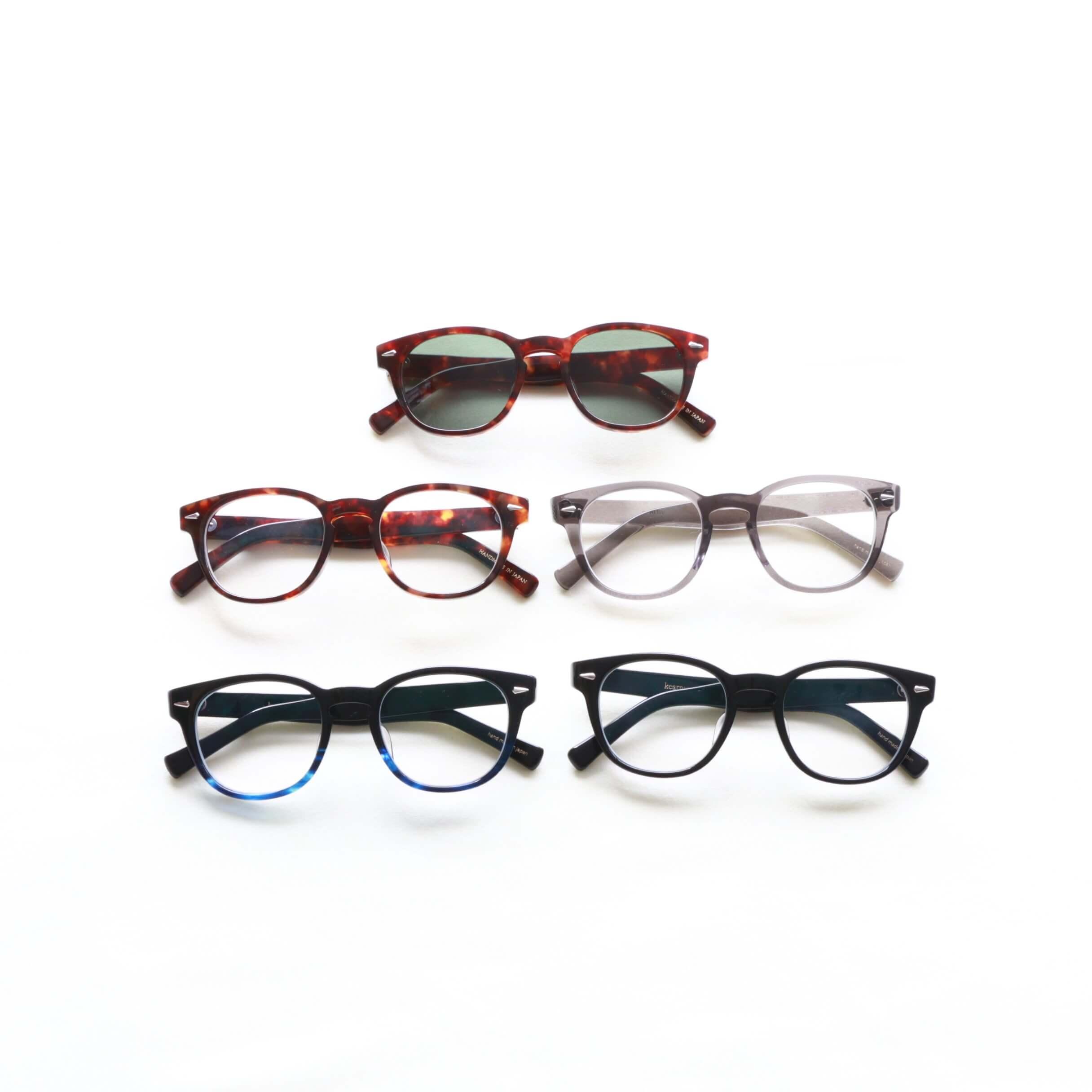 kearny カーニー Wellington ウェリントン セルロイド眼鏡