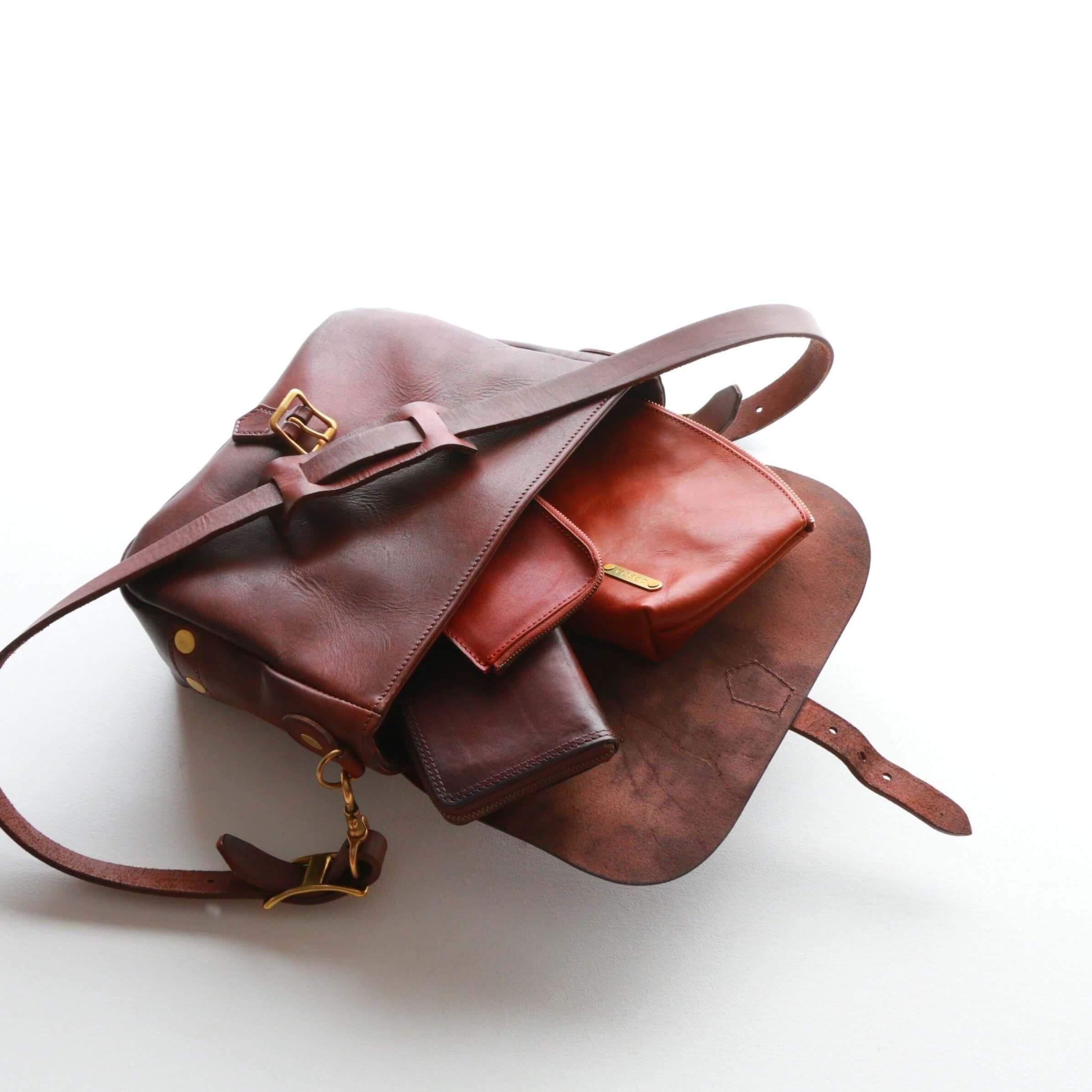 vasco ヴァスコ LEATHER POSTMAN SHOULDER BAG SMALL レザーポストマンショルダーバッグ スモール 刻印アリ VS-249L